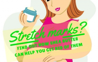 How shea butter for stretch marks works