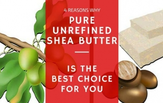 Preparing pure unrefined shea butter