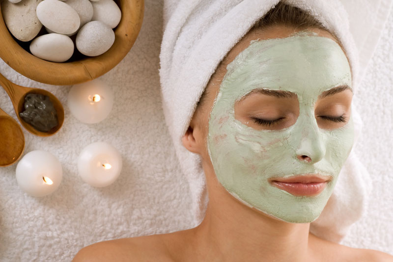 Facial masks are excellent home remedies for acne